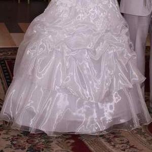 Продам свадебное платье р.46
