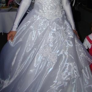 Продам свадебное платье,  цвет белый