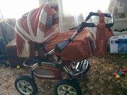 Продам коляску  трансформер,  детская,  зима-лето